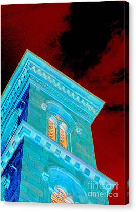 Haunted Castle Canvas Print by Randall Weidner