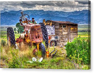 Haunted Harvest Canvas Print by James Marvin Phelps