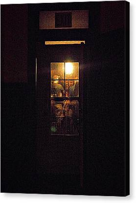 Haunted House 4 Canvas Print by William Horden