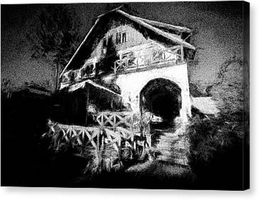 Haunted House Canvas Print by Celso Bressan