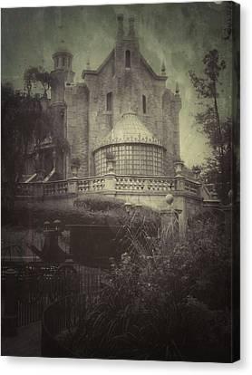 Haunted Mansion Canvas Print by Kenneth Krolikowski