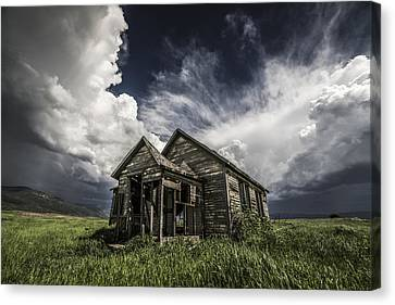 Abandoned Houses Canvas Print - Haunted by Peter Irwindale