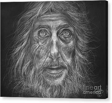 Haunted Soul Canvas Print by Emily Eibs