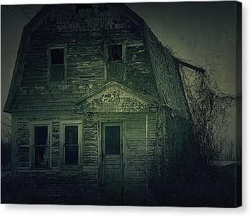 Hovind Canvas Print - Haunting by Scott Hovind