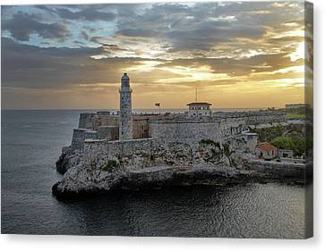 Havana Castillo 2 Canvas Print