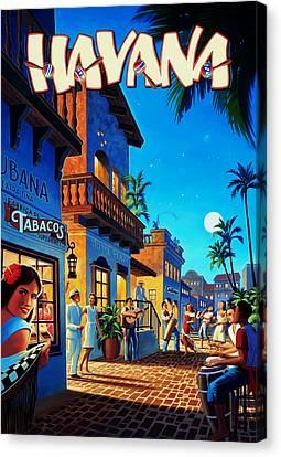 Havana Cuba Canvas Print by Mark Rogan