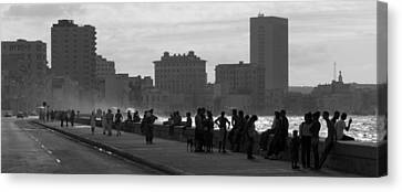 Havana Cuba Canvas Print by Peter Verdnik