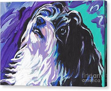 Havanese Canvas Print by Lea S