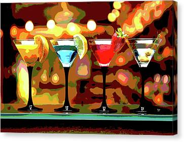 Booze Canvas Print - Have A Drink by Charles Shoup