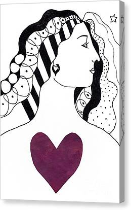 Have A Heart Canvas Print by Helena Tiainen