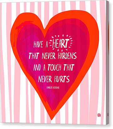 Have A Heart Canvas Print by Lisa Weedn