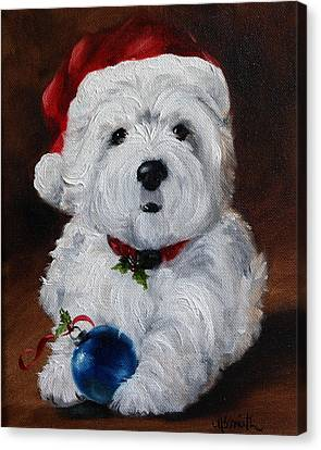 Have Yourself A Merry Little Christmas  Canvas Print by Mary Sparrow