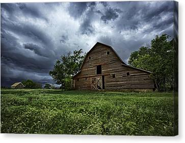 Barn Storm Canvas Print - Haven by Thomas Zimmerman