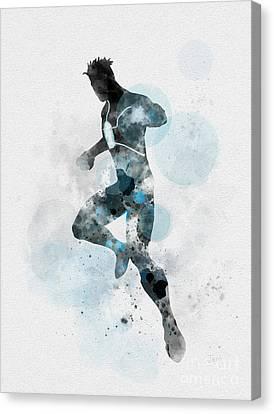 Havok Canvas Print by Rebecca Jenkins