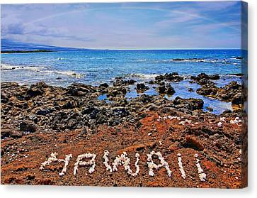 Canvas Print featuring the photograph Hawaii by DJ Florek