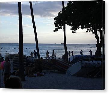 Canvas Print - Hawaiian Afternoon by Daniel Sauceda