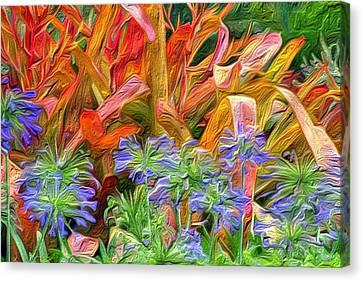 Hawaiian Flowers Canvas Print by Paige Harre