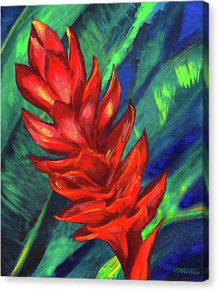 Hawaiian Ginger Canvas Print