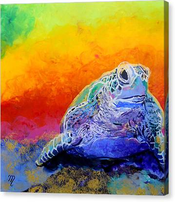 Hawaiian Honu 4 Canvas Print