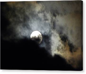 Hawaiian Moon Canvas Print by Elizabeth Hoskinson