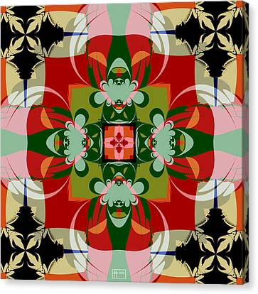 Hawaiian Quilt 22 Canvas Print by Jim Pavelle