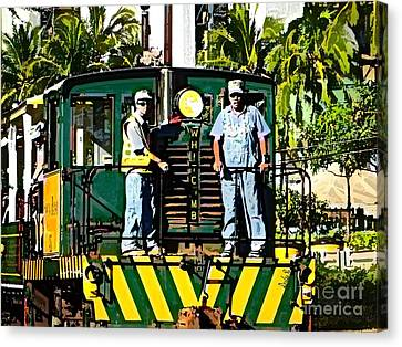 Hawaiian Railway Canvas Print