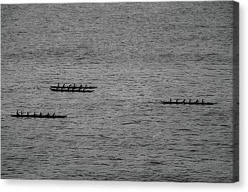 Hawaiian Rowers Canvas Print