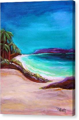 Hawaiin Blue Canvas Print by Patricia Piffath