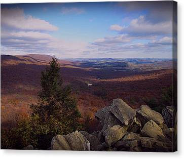 Hawk Mountain Sanctuary Canvas Print