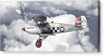 Aviationart Canvas Print - Hawker Fury by Antonis Karidis