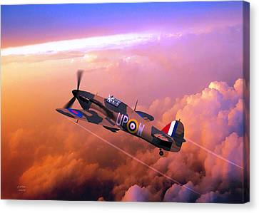 Hawker Hurricane British Fighter Canvas Print by John Wills