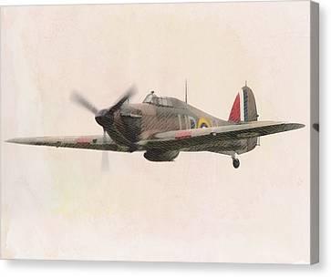 Hawker Hurricane Canvas Print by John Springfield