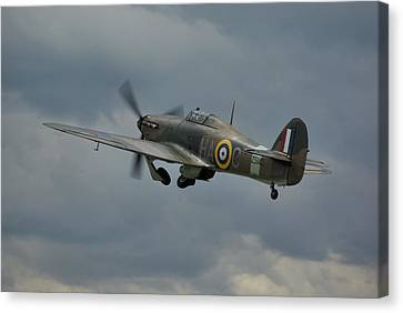 Hawker Hurricane Mk Xii  Canvas Print by Tim Beach