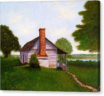 Hawkeye Cabin Canvas Print
