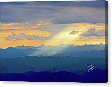 Hawks Bill Mountain Sunset Canvas Print