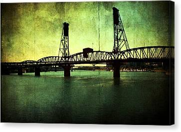 Hawthorne Bridge Canvas Print by Cathie Tyler
