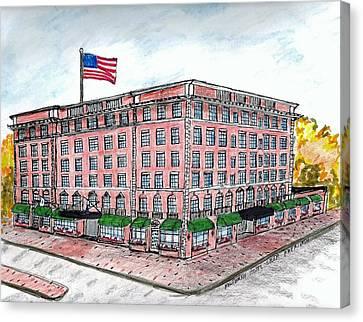 Hawthorne Hotel Canvas Print