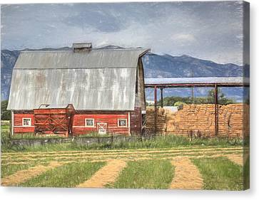Hay Barn Canvas Print