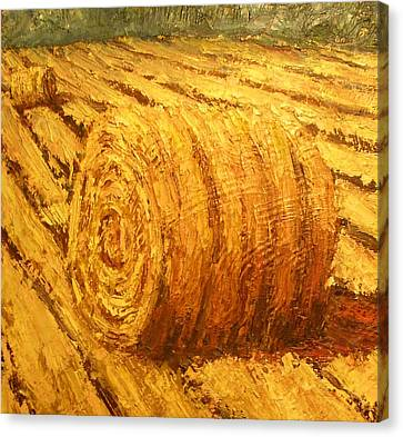 Haybale II Canvas Print