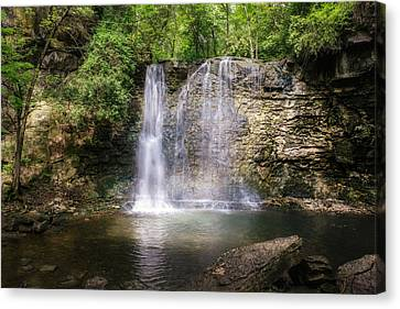 Hayden Run Waterfall Canvas Print