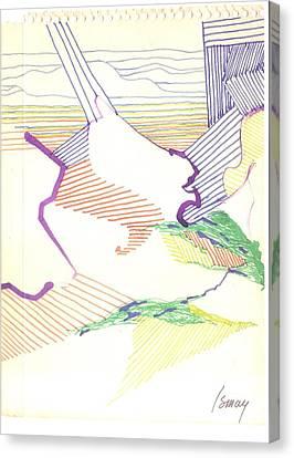 Haystack Canvas Print by Rod Ismay