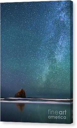 Haystack Star Watch Canvas Print by Tim Moore