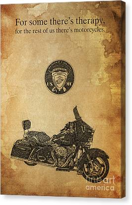 Hd - Semper Fidelis Canvas Print by Pablo Franchi