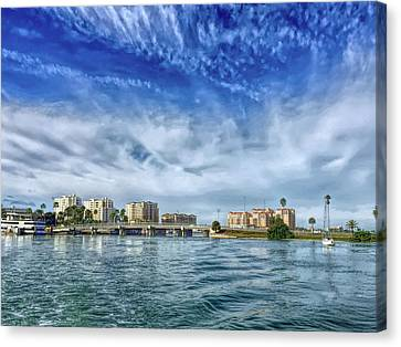 Hdr Clearwater Florida Canvas Print by Aimee L Maher Photography and Art Visit ALMGallerydotcom