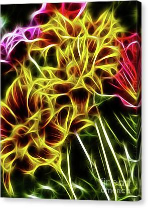 Hdr Light Drawing Canvas Print