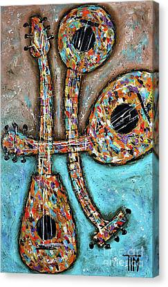 Canvas Print - He Has Alotta Lute by Tim Ross
