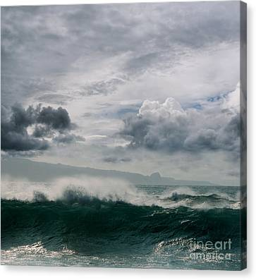 He Inoa Wehi No Hookipa Canvas Print by Sharon Mau