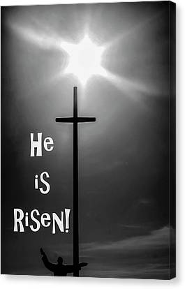 He Is Risen 2 Canvas Print