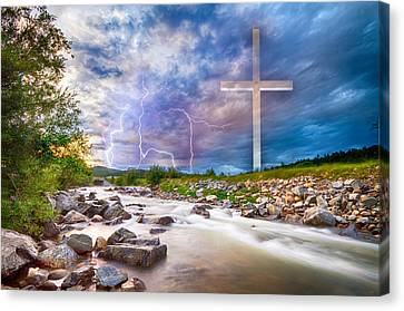 He Is Risen Canvas Print by James BO Insogna