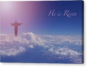 Christian Canvas Print - He Is Risen by Art Spectrum